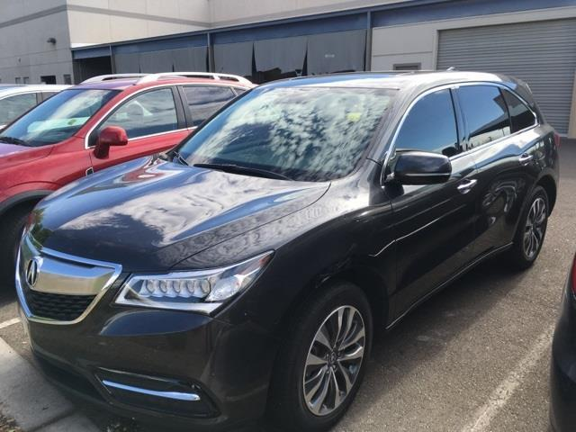 2016 acura mdx sh awd w tech sh awd 4dr suv w technology package for sale in peoria arizona. Black Bedroom Furniture Sets. Home Design Ideas