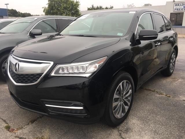 2016 Acura MDX w/Tech 4dr SUV w/Technology Package for ...