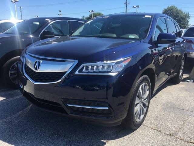 2016 Acura MDX w/Tech 4dr SUV w/Technology Package