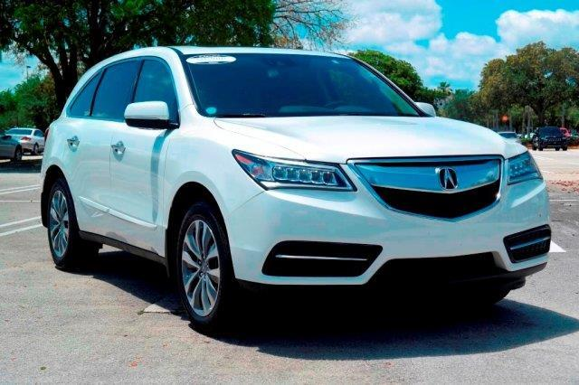 2016 acura mdx w tech 4dr suv w technology package for. Black Bedroom Furniture Sets. Home Design Ideas