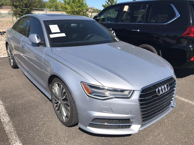 2016 audi a6 2 0t quattro premium plus awd 2 0t quattro premium plus 4dr sedan for sale in reno. Black Bedroom Furniture Sets. Home Design Ideas