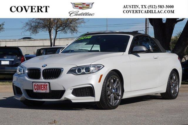 2016 BMW 2 Series M235i M235i 2dr Convertible