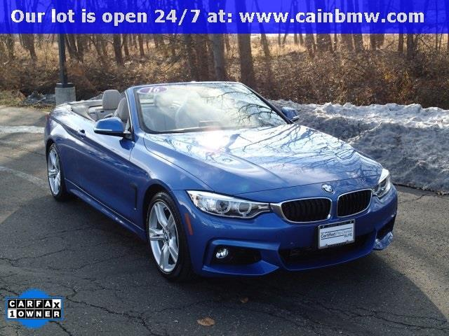 2016 BMW 4 Series 428i 428i 2dr Convertible SULEV