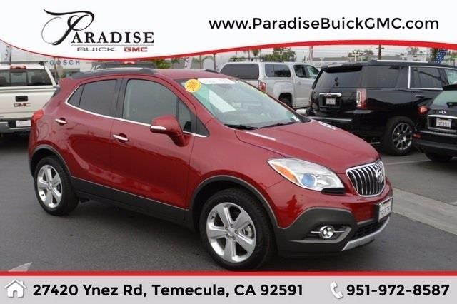2016 buick encore convenience convenience 4dr crossover for sale in rancho california. Black Bedroom Furniture Sets. Home Design Ideas