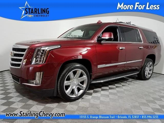 2016 cadillac escalade esv luxury collection luxury collection 4dr suv for sale in orlando. Black Bedroom Furniture Sets. Home Design Ideas