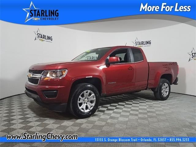 2016 chevrolet colorado lt 4x2 lt 4dr extended cab 6 ft lb for sale in orlando florida. Black Bedroom Furniture Sets. Home Design Ideas
