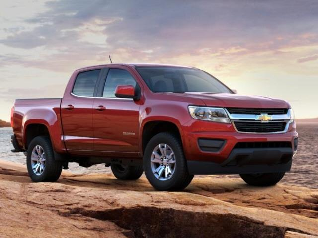 2016 Chevrolet Colorado LT 4x4 LT 4dr Crew Cab 5 ft. SB