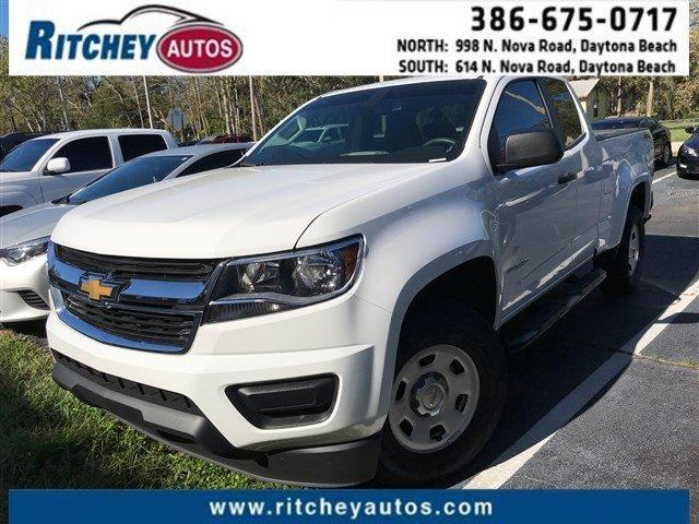 2016 Chevrolet Colorado Work Truck 4x4 4dr