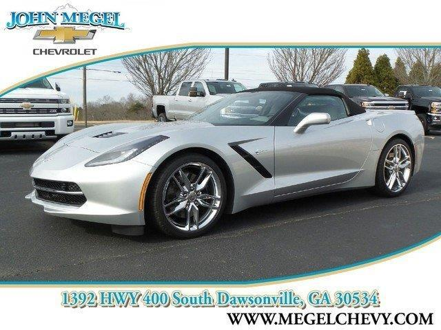 2016 chevrolet corvette stingray z51 stingray z51 2dr convertible w 3lt for sale in dawsonville. Black Bedroom Furniture Sets. Home Design Ideas