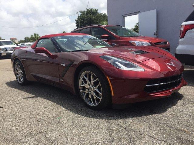 2016 chevrolet corvette stingray z51 stingray z51 2dr convertible w 3lt for sale in sarasota. Black Bedroom Furniture Sets. Home Design Ideas