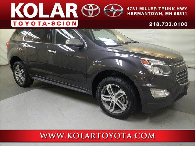 Kolar Toyota Duluth Minnesota >> 2016 Chevrolet Equinox LTZ AWD LTZ 4dr SUV for Sale in ...