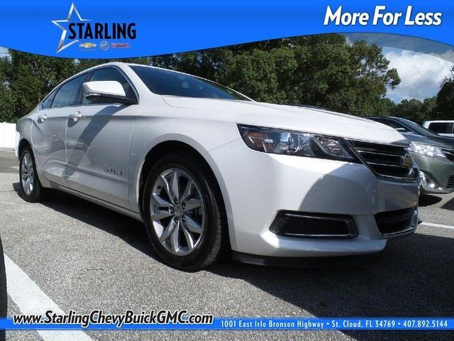 2016 chevrolet impala lt lt 4dr sedan w 1lt for sale in saint cloud florida classified. Black Bedroom Furniture Sets. Home Design Ideas