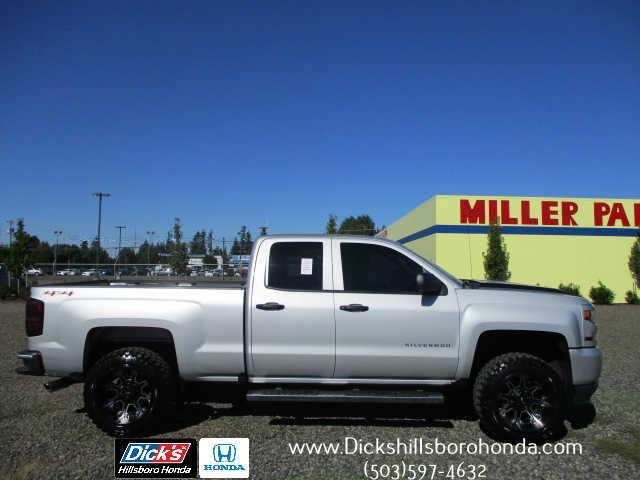 2016 chevrolet silverado 1500 custom 4x4 custom 4dr double cab 6 5 ft sb for sale in hillsboro. Black Bedroom Furniture Sets. Home Design Ideas