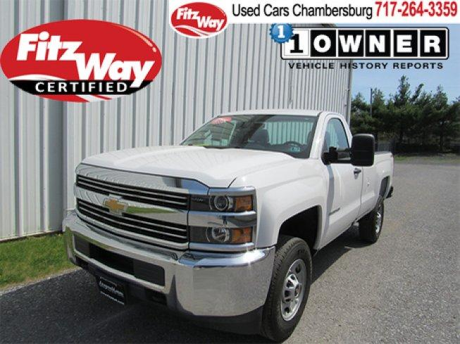 2016 Chevrolet Silverado 2500 4x4 Regular Cab