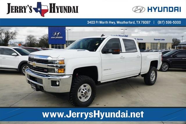 2016 chevrolet silverado 2500hd lt 4x4 lt 4dr crew cab sb for sale in weatherford texas. Black Bedroom Furniture Sets. Home Design Ideas
