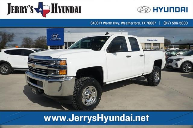 2016 chevrolet silverado 2500hd work truck 4x4 work truck 4dr double cab sb for sale in. Black Bedroom Furniture Sets. Home Design Ideas