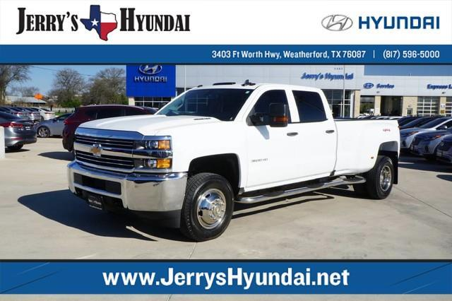 2016 chevrolet silverado 3500hd work truck 4x4 work truck 4dr crew cab srw for sale in. Black Bedroom Furniture Sets. Home Design Ideas