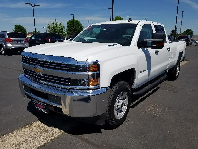 2016 chevrolet silverado 3500hd work truck 4x4 work truck 4dr crew cab srw for sale in medford. Black Bedroom Furniture Sets. Home Design Ideas
