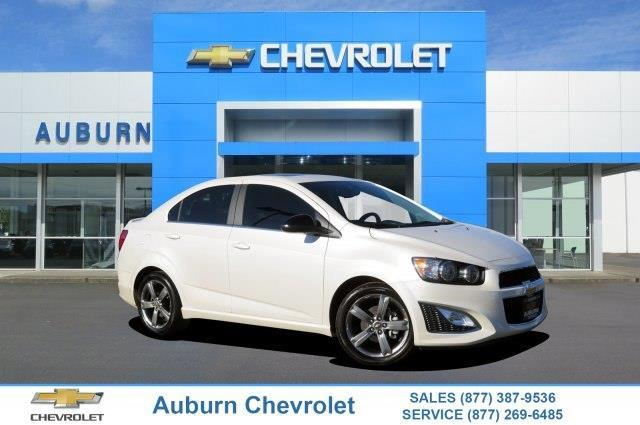 2016 Chevrolet Sonic RS Auto RS Auto 4dr Sedan