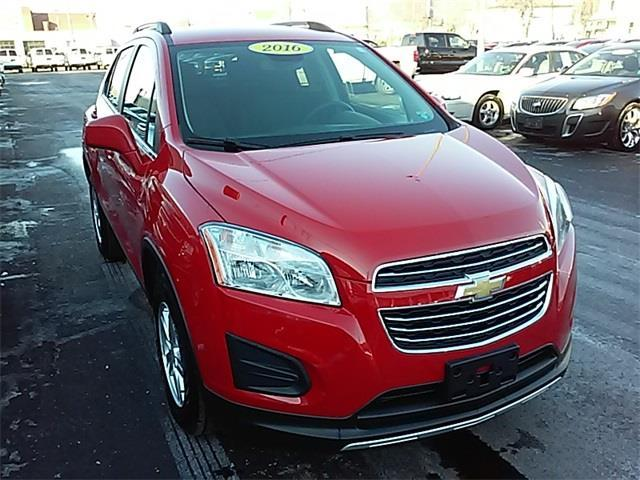 2016 Chevrolet Trax LT AWD LT 4dr Crossover w/1LT