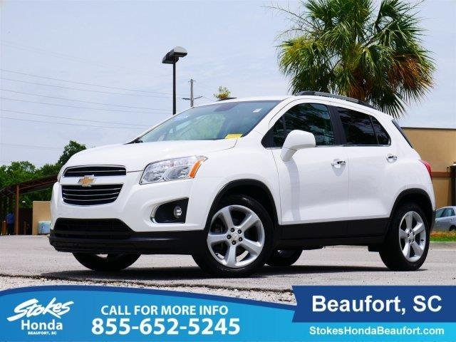 2016 chevrolet trax ltz ltz 4dr crossover w 1lz for sale for Stokes honda used cars