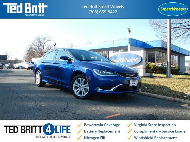 2016 Chrysler 200 Limited Limited 4dr Sedan