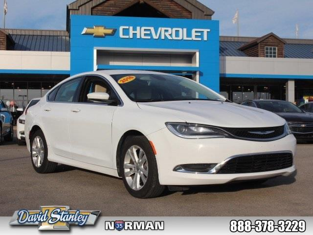 2016 chrysler 200 limited limited 4dr sedan for sale in norman oklahoma classified. Black Bedroom Furniture Sets. Home Design Ideas