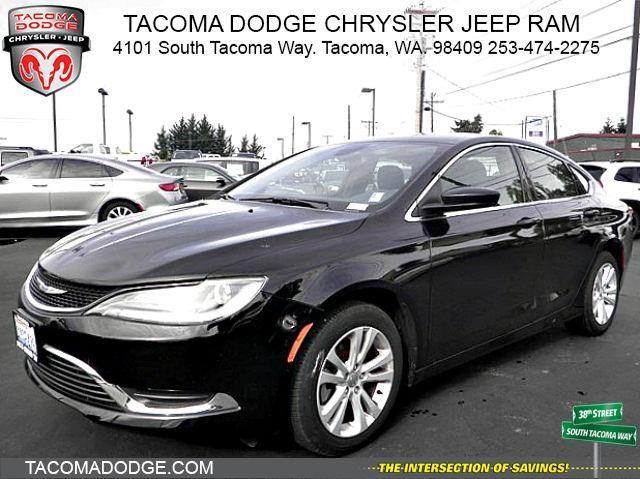 2016 chrysler 200 limited limited 4dr sedan for sale in tacoma washington classified. Black Bedroom Furniture Sets. Home Design Ideas