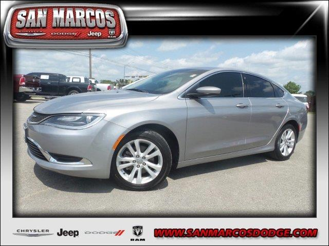 2016 chrysler 200 limited limited 4dr sedan for sale in san marcos texas classified. Black Bedroom Furniture Sets. Home Design Ideas