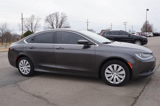 2016 chrysler 200 lx lx 4dr sedan for sale in bartlesville. Black Bedroom Furniture Sets. Home Design Ideas