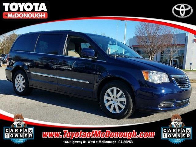2016 chrysler town and country touring touring 4dr mini van for sale in mcdonough georgia. Black Bedroom Furniture Sets. Home Design Ideas