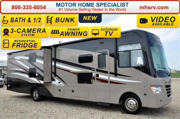 Creative Mirada 35BH Bath Amp 12 Bunk Model Ext  2016 Coachmen Motorhome