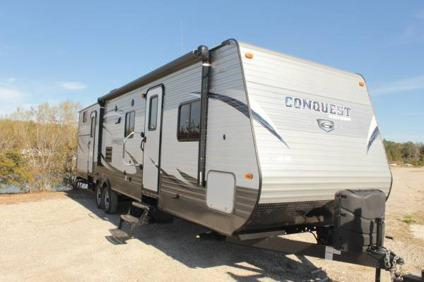 2016 Conquest 323tbr Bunk House Travel Trailer With 2