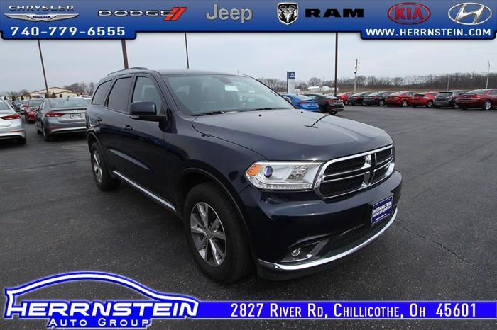 2016 dodge durango limited awd limited 4dr suv for sale in chillicothe ohio classified. Black Bedroom Furniture Sets. Home Design Ideas