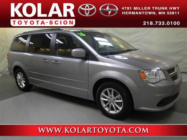 Kolar Toyota Duluth Minnesota >> 2016 Dodge Grand Caravan SXT SXT 4dr Mini-Van for Sale in ...