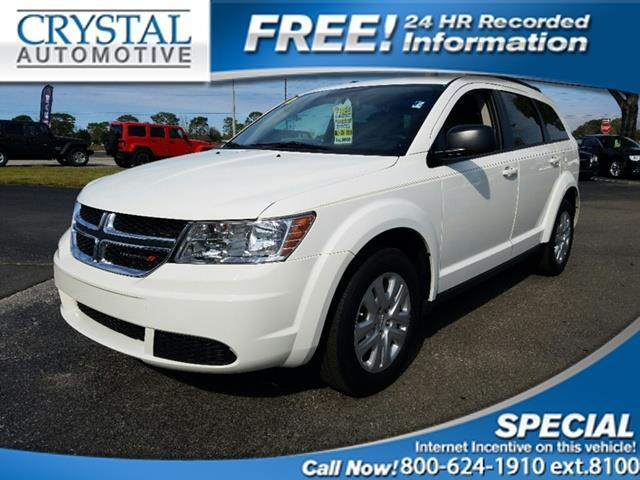 2016 Dodge Journey SE SE 4dr SUV
