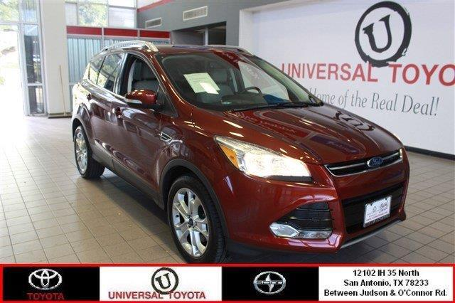 2016 ford escape titanium awd titanium 4dr suv for sale in live oak texas classified. Black Bedroom Furniture Sets. Home Design Ideas