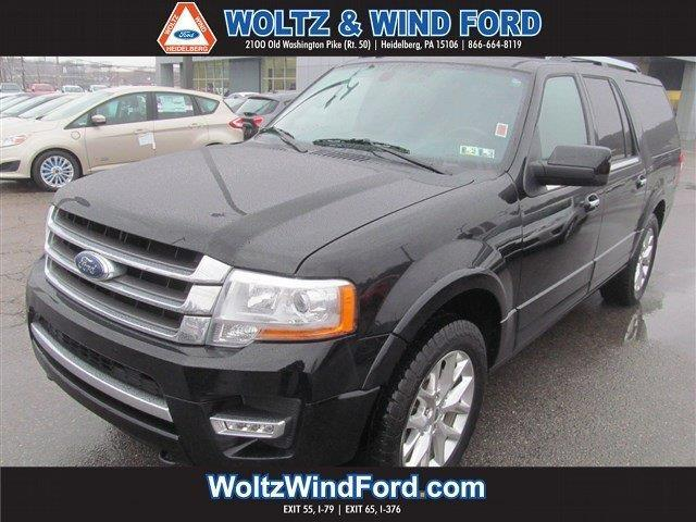 2016 ford expedition el limited 4x4 limited 4dr suv for sale in carnegie pennsylvania. Black Bedroom Furniture Sets. Home Design Ideas