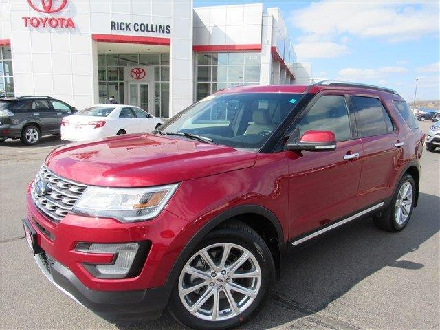 2016 ford explorer limited awd limited 4dr suv for sale in sioux city iowa classified. Black Bedroom Furniture Sets. Home Design Ideas