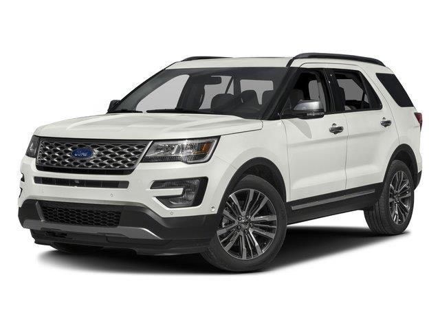 2016 Ford Explorer Platinum AWD Platinum 4dr SUV