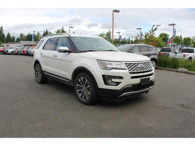 2016 ford explorer platinum awd platinum 4dr suv for sale in boston harbor washington. Black Bedroom Furniture Sets. Home Design Ideas