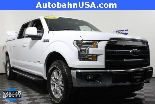 2016 Ford F-150 Lariat 4x4 Lariat 4dr SuperCrew 5.5 ft.