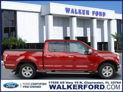 2016 Ford F-150 XLT 4x2 XLT 4dr SuperCrew 5.5 ft. SB