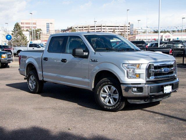 2016 Ford F-150 XLT 4x4 XLT 4dr SuperCrew 5.5 ft. SB