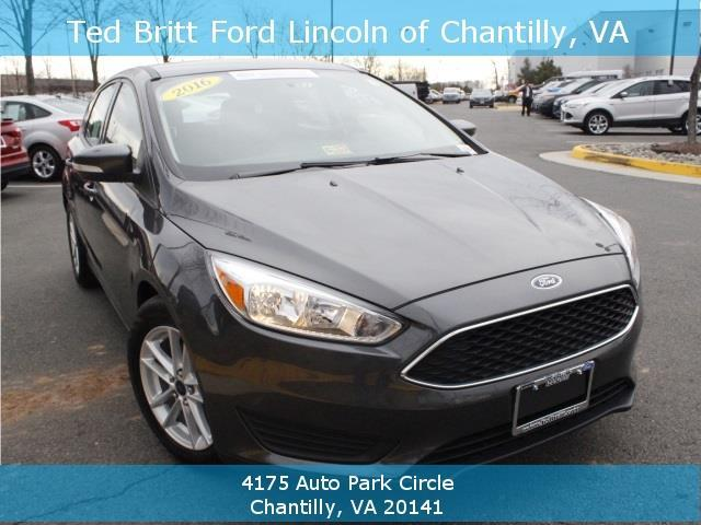 2016 ford focus se se 4dr hatchback for sale in chantilly virginia classified. Black Bedroom Furniture Sets. Home Design Ideas