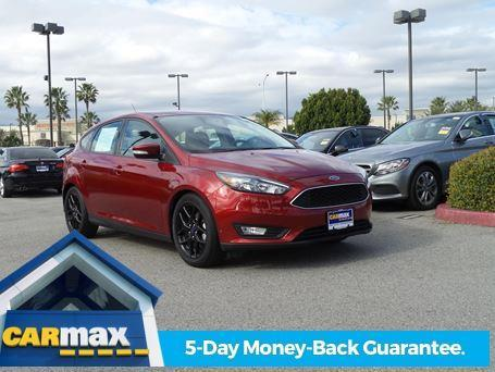2016 Ford Focus SE SE 4dr Hatchback