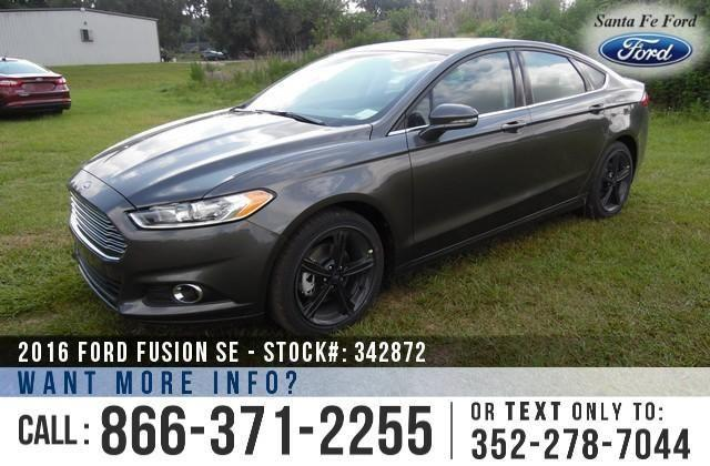 2016 Ford Fusion SE - Sticker $26,635 - YOUR PRICE