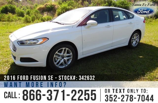 2016 Ford Fusion SE - Sticker $26,645 - YOUR PRICE