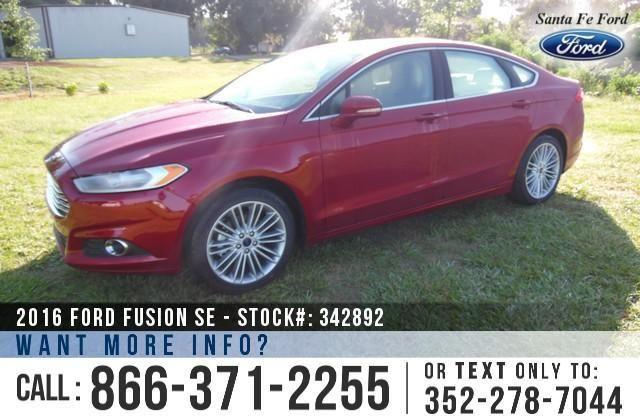 2016 Ford Fusion SE - Sticker $32,185 - YOUR PRICE