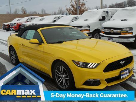 2016 ford mustang ecoboost premium ecoboost premium 2dr convertible for sale in saint peters. Black Bedroom Furniture Sets. Home Design Ideas